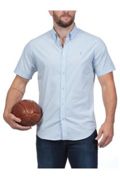 Chemise Ruckfield Chemise bleue à manches courtes Rugby Essentiel(115447297)
