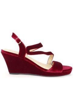 Sandales Cendriyon Compensées Bordeaux Chaussures Femme(115425209)
