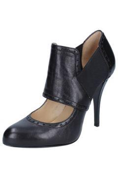 Boots Gianni Marra MARRA bottines noir cuir textile BY794(88525430)
