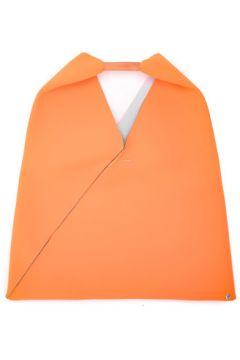 Sac à main Mm6 Maison Margiela Sac shopper en néoprène orange(115507160)