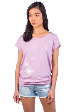 Iriedaily Pusteblume T-Shirt paars(85195705)