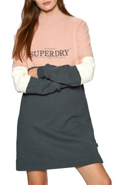 Robe Superdry Nyc Times Colourblock - Iron Gate(123967618)