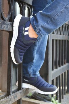 FAST STEP Lacivert Beyaz Erkek Sneaker(110928857)