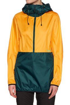 Planks Shredorak Packable Anorak Damen Winddichte Jacken - Sunset Yellow(100270772)