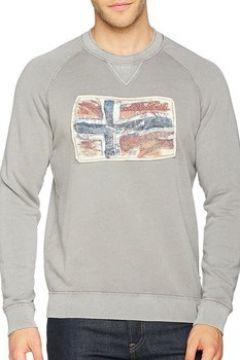 Sweat-shirt Napapijri Babos Crew Felpa Grigia(115476948)