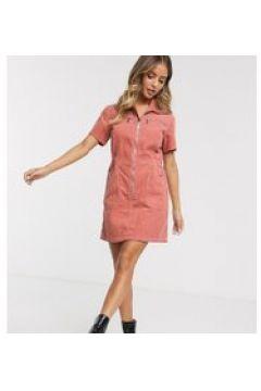 Urban Bliss - Vestito camicia a coste-Rosa(120329654)