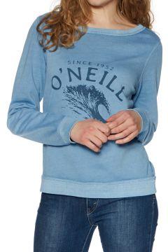 O\'Neill Lw Becky Crew Damen Pullover - Walton Blue(110365544)