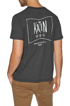 Katin Grubby Kurzarm-T-Shirt - Black(100273253)