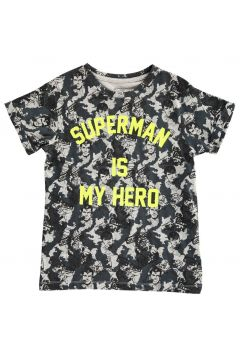 T-Shirt Oversize Superman Is My Hero Famguard(113612244)