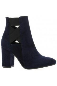 Bottines Nuova Riviera Boots cuir velours(127908774)