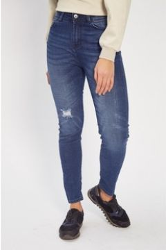 Jeans Fifty Jeans 50-HIGH RISE SKINNY_MEDIUM BLUE WORN IN(101696356)