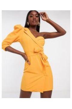 Lavish Alice - Vestito corto stile blazer con una manica a sbuffo arancione(120301075)