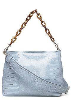 Amble Croco Bags Small Shoulder Bags - Crossbody Bags Blau HVISK(114165798)