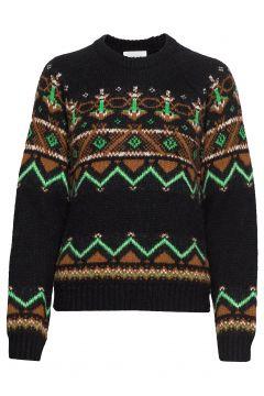 Asta Sweater Strickpullover Bunt/gemustert WOOD WOOD(114152742)