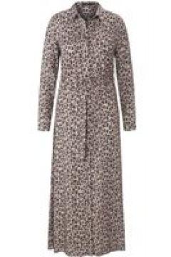 Abendkleid Hemdblusenkleid Emilia Lay taupe/schwarz(126198391)