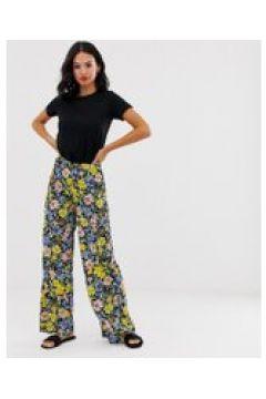 Miss Selfridge - Geblümte Hose mit weitem Bein - Mehrfarbig(84384260)