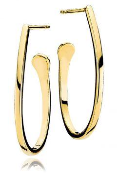 Timeless Medium Creole Ohrhänger Schmuck Gold IZABEL CAMILLE(112085148)