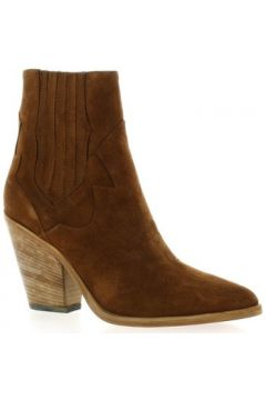 Bottines Giancarlo Boots cuir velours(101665546)