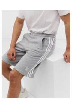 adidas Originals - Graue Shorts mit 3 Streifen - Grau(93534571)