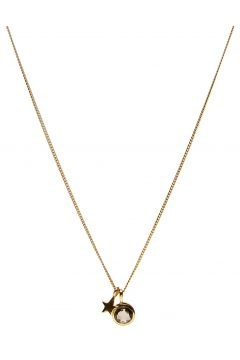 Priscilla Necklace Gold Moonst Accessories Jewellery Necklaces Dainty Necklaces Gold SYSTER P(111057501)