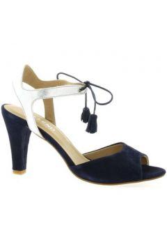 Sandales So Send Nu pieds cuir velours(127910156)