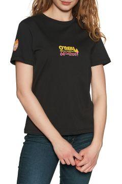 T-Shirt à Manche Courte Femme O\'Neill Cali Life Basic - Black Out(111325578)