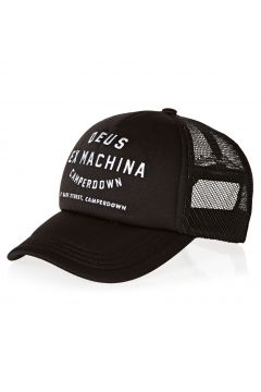 Deus Ex Machina Camperdown Address Trucker Mütze - Black(114064993)