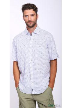 Мужские рубашки с коротким рукавом(109015299)