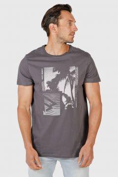 Brunotti Tim-Print Mens T-shirt(116973984)