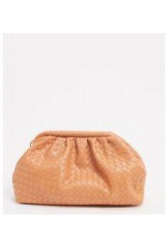 Esclusiva Glamorous - Pochette a soffietto morbida intrecciata arancione-Multicolore(120398910)