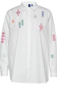 Sigrid Shirt Langärmliges Hemd Weiß RÉSUMÉ(108838810)