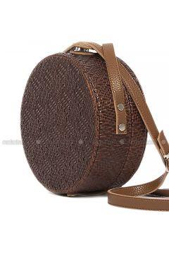 Brown - Shoulder Bags - Bagmori(110316762)