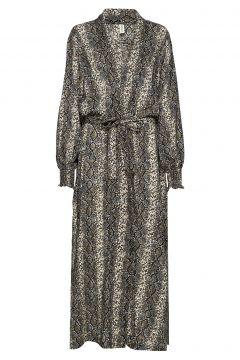 Melina Robe Maxikleid Partykleid Grau UNDERPROTECTION(117082489)