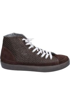 Chaussures Beverly Hills Polo Club brun foncé textile daim AK998(115443291)
