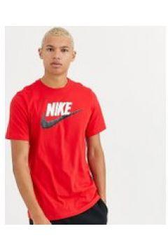 Nike Tall - Rotes T-Shirt mit Swoosh-Logo - Rot(94860293)