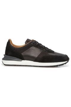 Magnanni Erkek Siyah Garnili Logolu Deri Sneaker 42 EU(126848102)