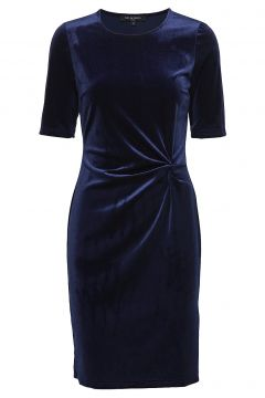 Dress Kleid Knielang Blau ILSE JACOBSEN(114163022)