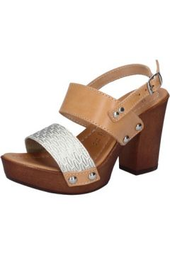 Sandales Made In Italia sandales platino cuir marron BY516(115401154)