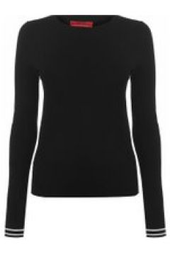 HUGO Sloggy Ribbed Knit Sweater - Black 001(111095050)