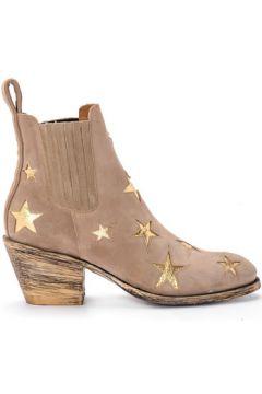 Boots Mexicana Bottine Texan modèle Circus en daim beige(115518000)