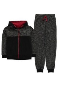 Crafted 3 Piece Tracksuit Set Junior Boys - Space Blk Marl(100536581)