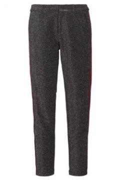 Pantalon Maison Scotch TAPERED LUREX PANTS WITH VELVET SIDE PANEL(115526190)