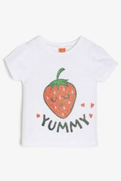 Koton Kız Çocuk Yazili Baskili T-Shirt(89961357)