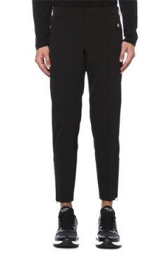 Prada Erkek Siyah Logolu Dar Paça Pantolon 52 IT(119153392)