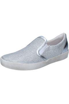 Chaussures W6yz slip on argent textile BZ660(115398896)
