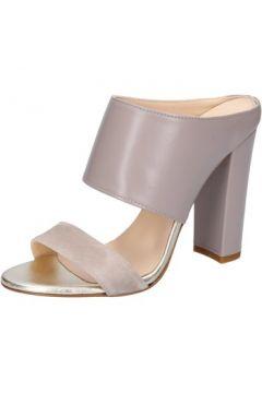 Sandales Islo sandales beige cuir daim BZ329(88514670)
