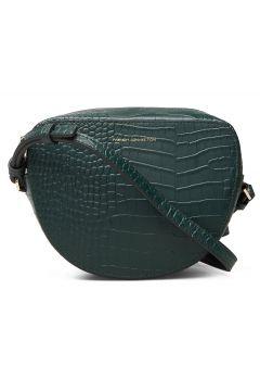 Tallin Croc Hlf Moon Crossbody Bags Small Shoulder Bags - Crossbody Bags Grün FRENCH CONNECTION(114166027)