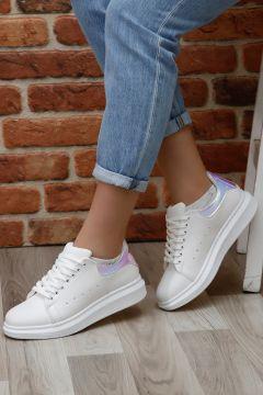 G.Ö.N Lila Kadın Sneaker(110939493)
