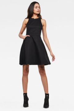 G-Star RAW Women Core fit and flare Dress Black(118288584)