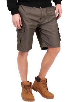 Short Krisp plaine coton Cargo Shorts(127852910)